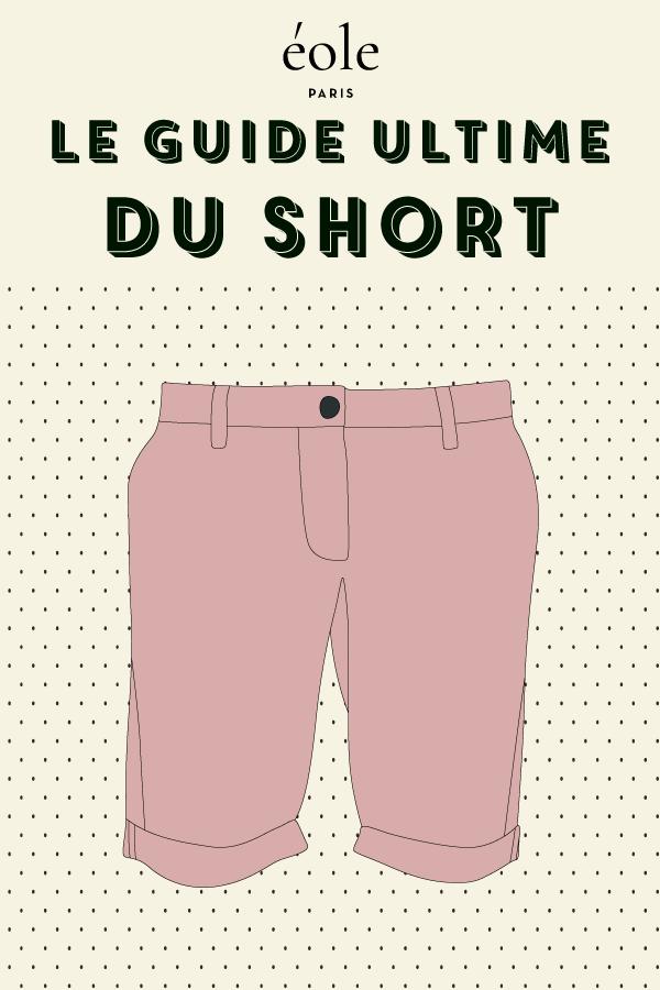 Le guide ultime du short - EOLE PARIS