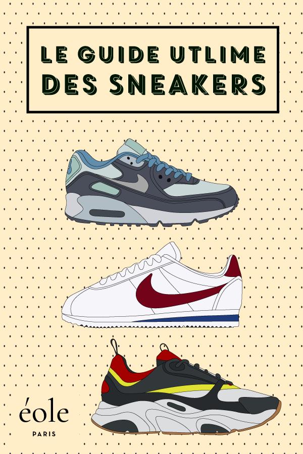 Le guide ultime des sneakers - EOLE PARIS P
