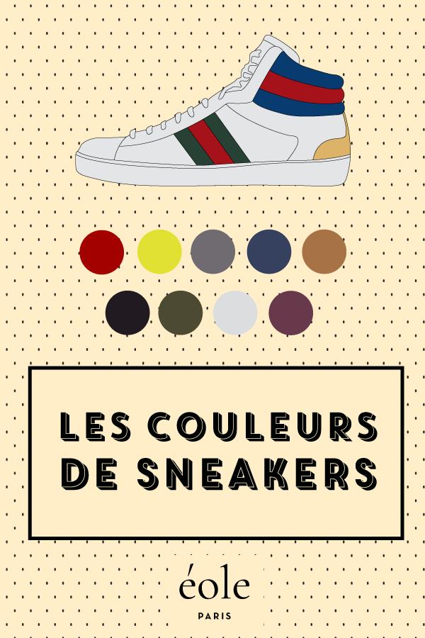 Les couleurs de sneakers - EOLE PARIS P
