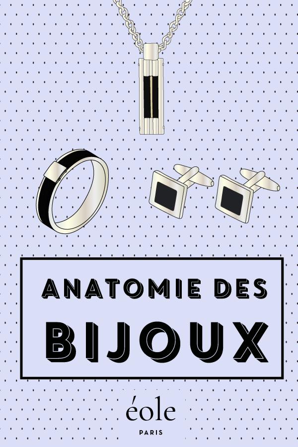 Anatomie des bijoux - EOLE PARIS