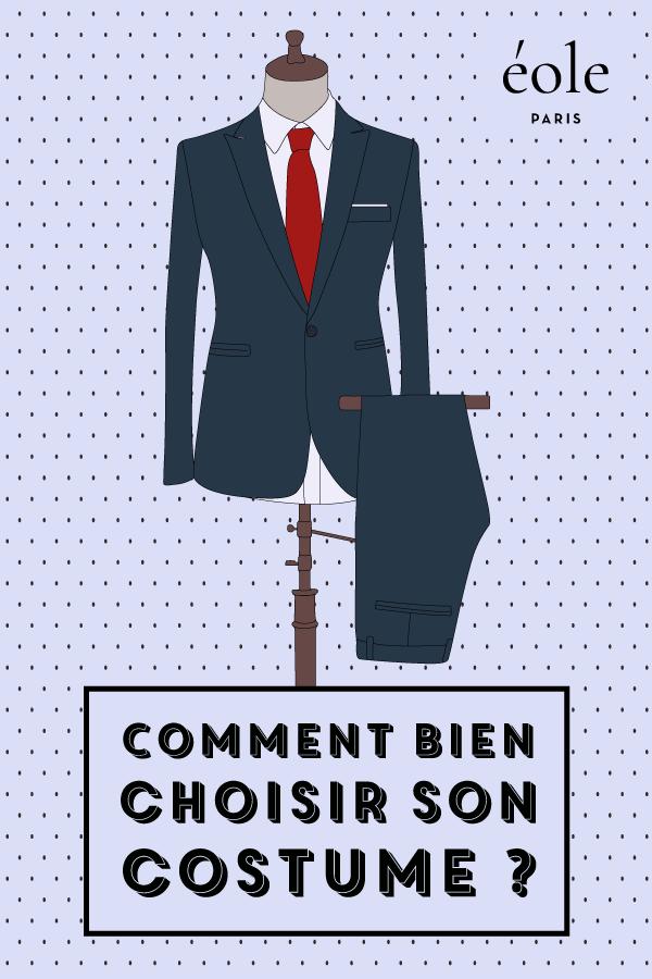 Comment bien choisir et porter son costume - EOLE PARIS