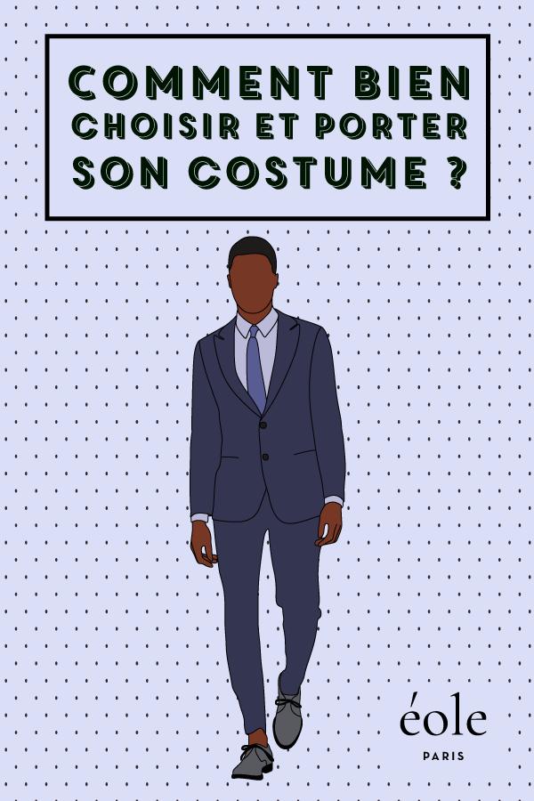 Comment bien porter son costume ? EOLE PARIS