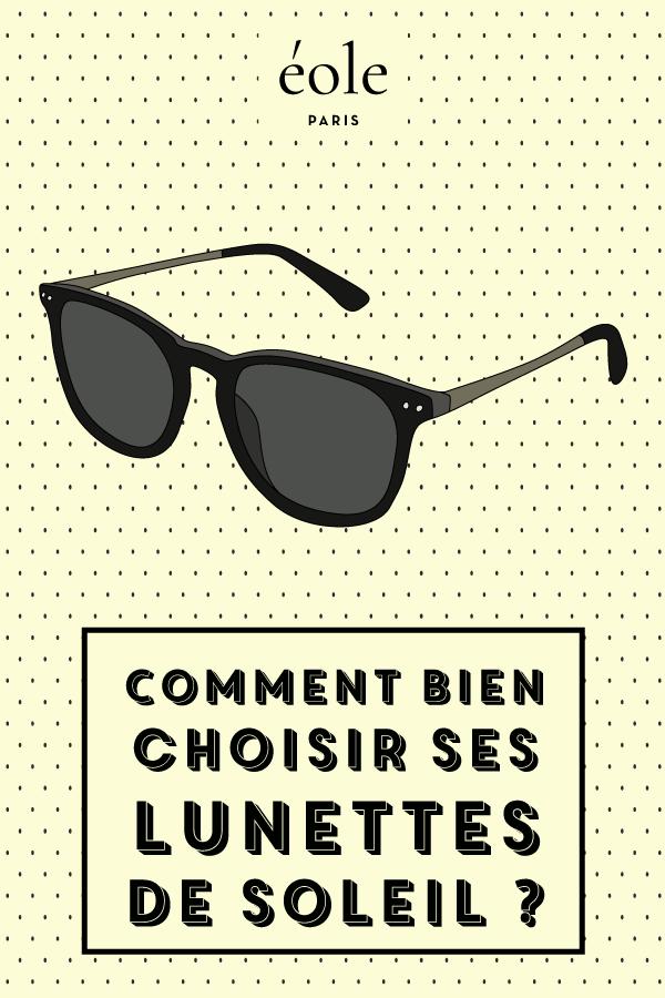 Comment bien choisir ses lunettes de soleil - EOLE PARIS