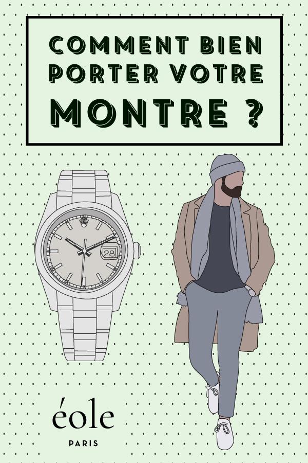 Comment bien porter votre montre ? EOLE PARIS P