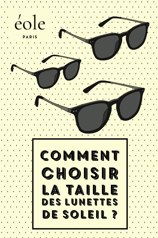 Comment choisir la taille de vos lunettes - EOLE PARIS