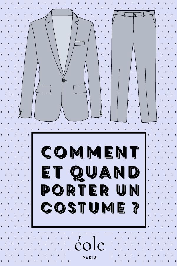 Comment et quand porter votre costume ? EOLE PARIS