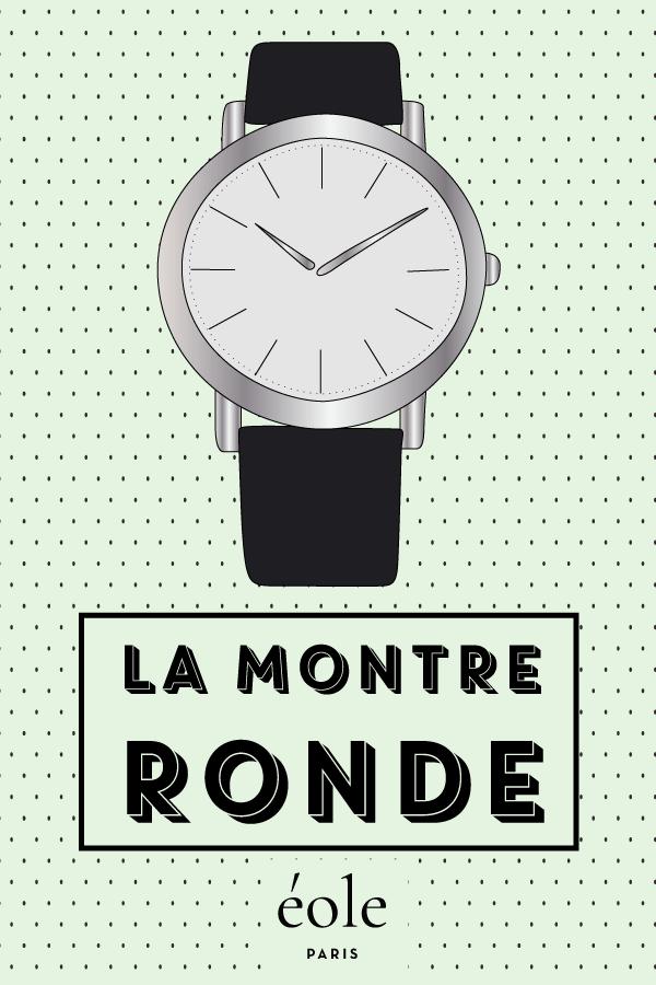 La montre ronde - EOLE PARIS P