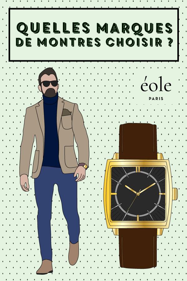 Quelles marques de montre choisir ?EOLE PARIS P