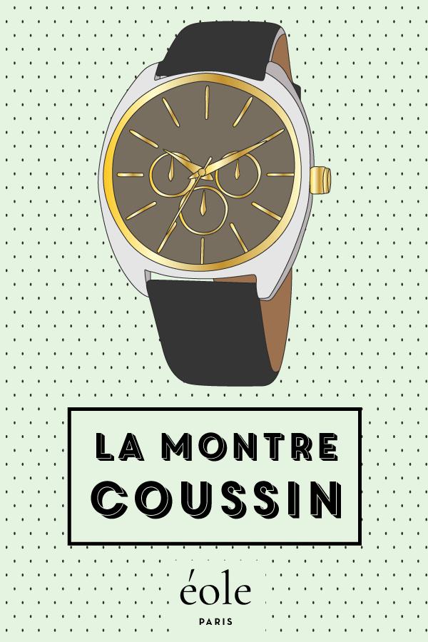 La montre coussin - EOLE PARIS