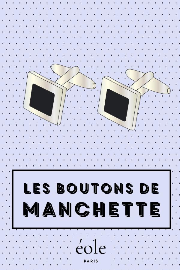 Les boutons de manchettes - EOLE PARIS
