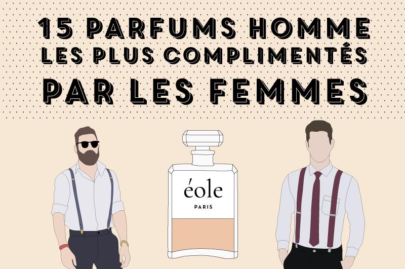15 parfums hommes les plus complimentés par les femmes