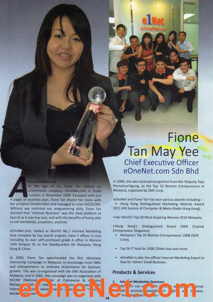 JCI Top 10 Creative Young Entrepreneur Award 2011