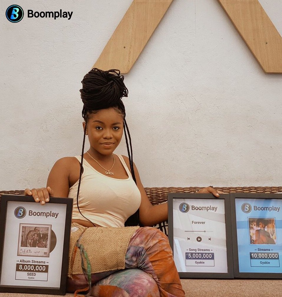 Gyakie Receives Multiple Boomplay Awards!