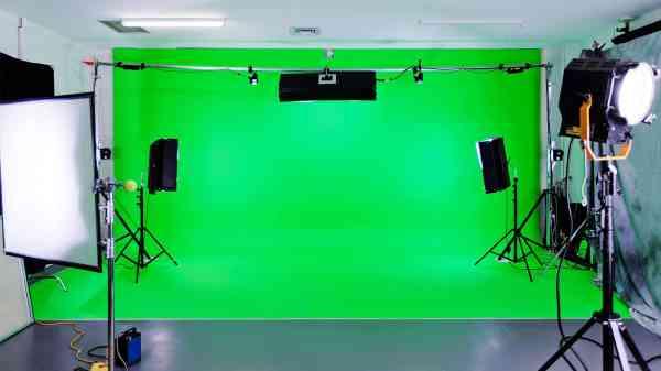 Studio fond vert ou la technique d'incrustation - Lyon ...