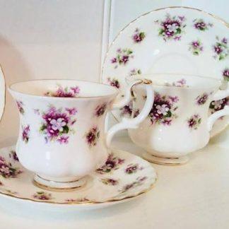 royal albert sweet violet side plate wanted