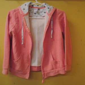 beautiful girls clean second hand hoodie size 12