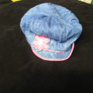 Toddlers denim hat size 3-4