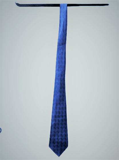 Light blue necktie
