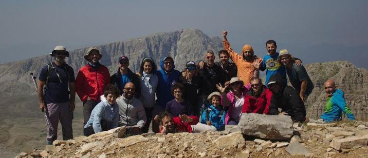 Η ομάδα του Ε.Ο.Σ. Πάτρας στην κορυφή