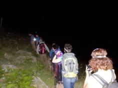 Νυχτερινή ανάβαση στην κορυφή Προφήτης Ηλίας