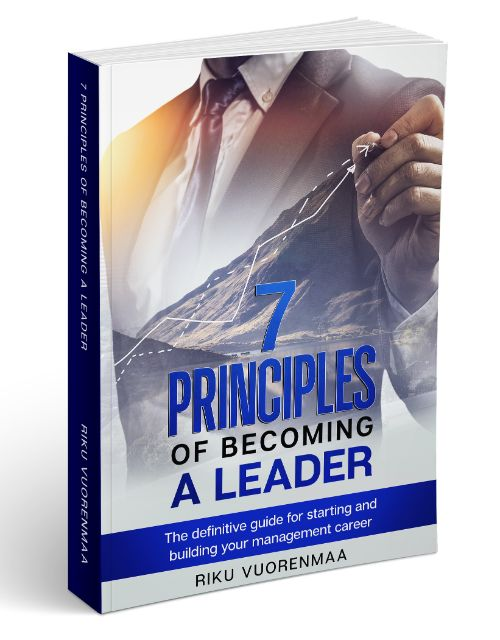 7 Principles of becoming a Leader by Riku Vuorenmaa