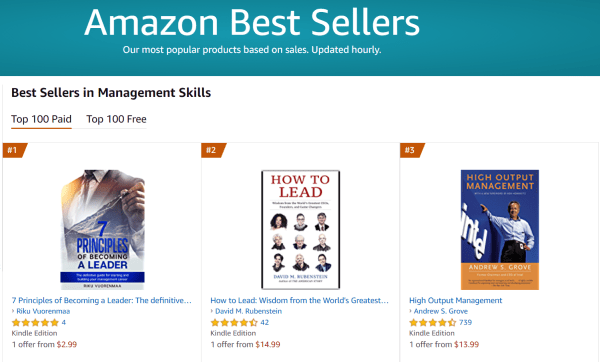 Best Seller - 7 Principles of Becoming a Leader