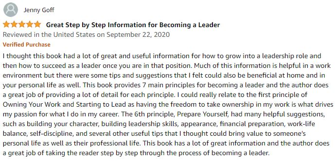 Best Seller for new managers - how to become a leader