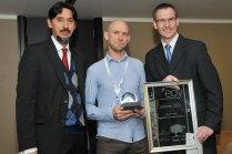 Nazeem Martin, Business Partners Limited; Innovator of the Year: Stuart Forrest, Triggerfish Animation Studios; and Jan Steenkamp, Sanlam