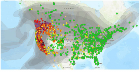 Fire data is updated hourly based upon input from incident intelligence sources, gps data, infrared (ir) imagery from fixed wing and satellite platforms. Research Supports Air Sensor Data Pilot Conducted In 2020 Wildfire Season Us Epa