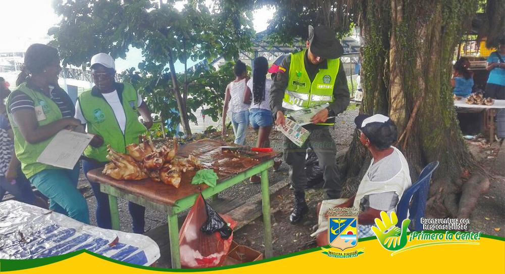 Epa realizó jornada de sensibilización a comerciantes y habitantes del barrio La Independencia (2)-1