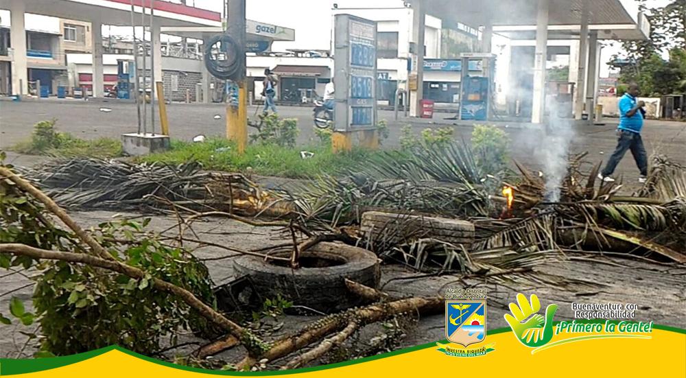 Afectación medio ambiente durante Paro Cívico (1)