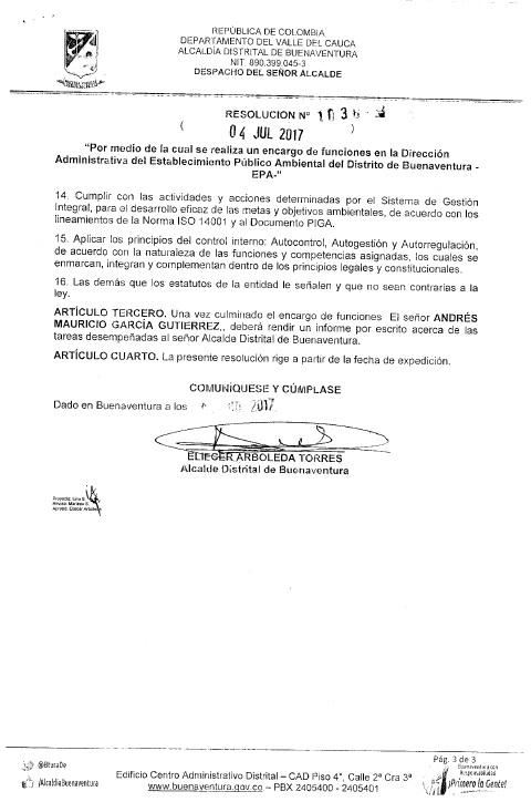 Decreto Nombramiento Dir. EPA (E) Hoja 3