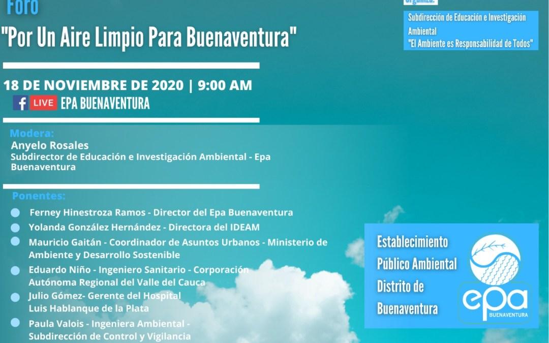 Día Internacional del Aire Limpio, por un Cielo Azul