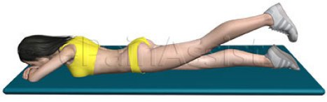 Image result for Prone Hip Extension