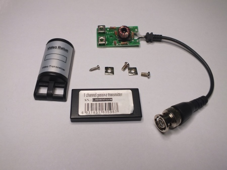 video over utp – commercial balun circuit