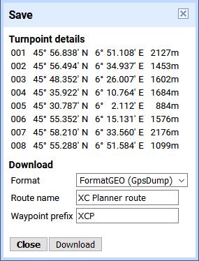 configuration variomètre Varduino pour navigation en cross depuis XCplanner
