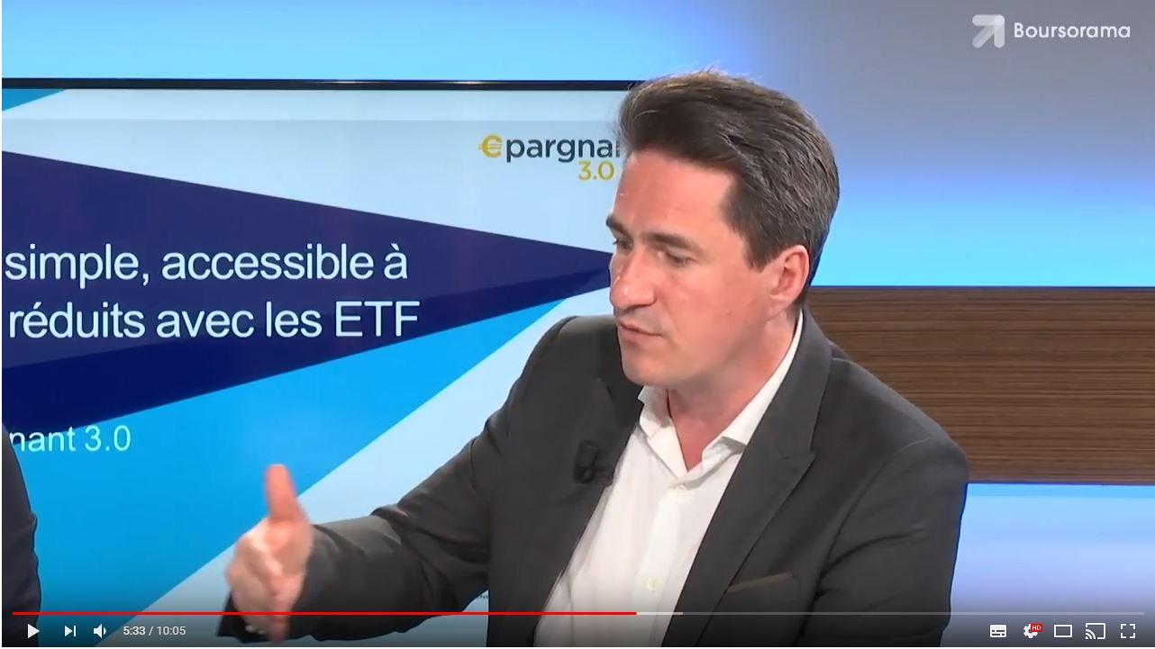Webinaire ETF Boursorama Epargnant 3.0