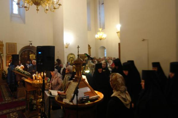 В Свято-Покровском женском монастыре прошли юбилейные ...