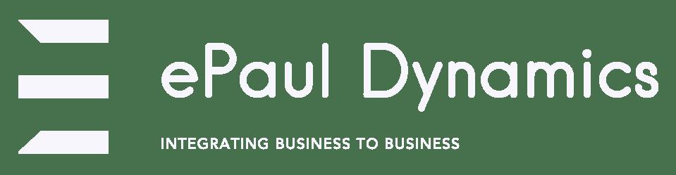 ePaul Dynamics logo white