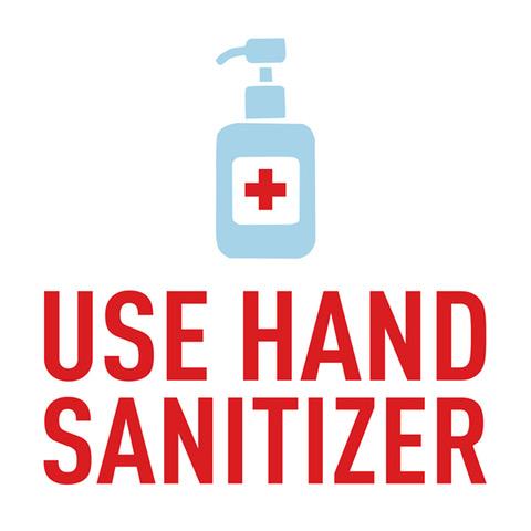 Hand Sanitizer Sign