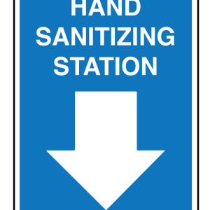 Hand Sanitizer Station Signage