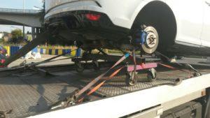 rachat vehicule accidente