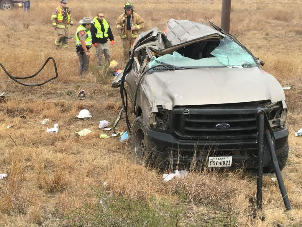 Eagle Pass Young Man Dies in Single Vehicle Rollover Accident on FM ...