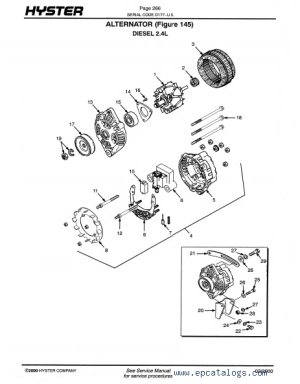Hyster H50xm Wiring Diagram | Wiring Diagram And Schematics