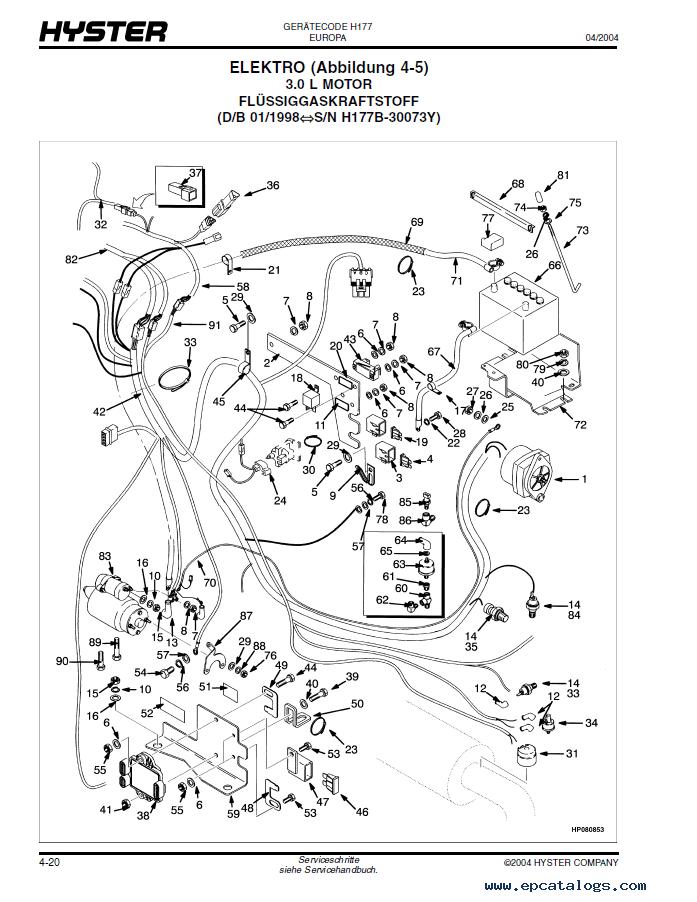 caterpillar 50 forklift parts diagram