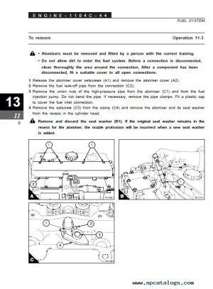 Clark SF3540DL & CMP4050sDL SM712 PDF Manual