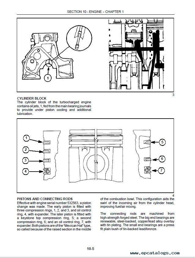 new holland ls180  ls190 skid steer loaders service manual pdf
