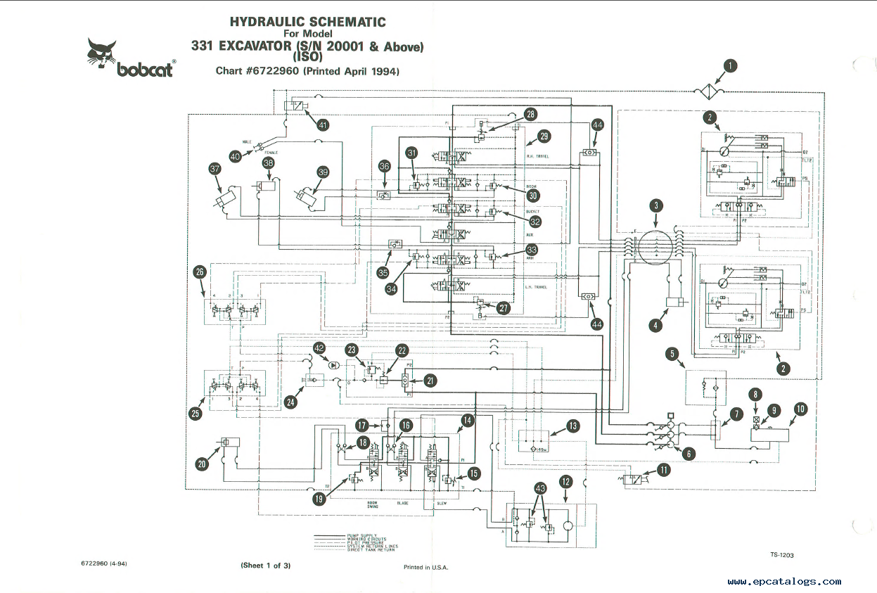 Diagram S300 Bobcat Wire Controls Diagram