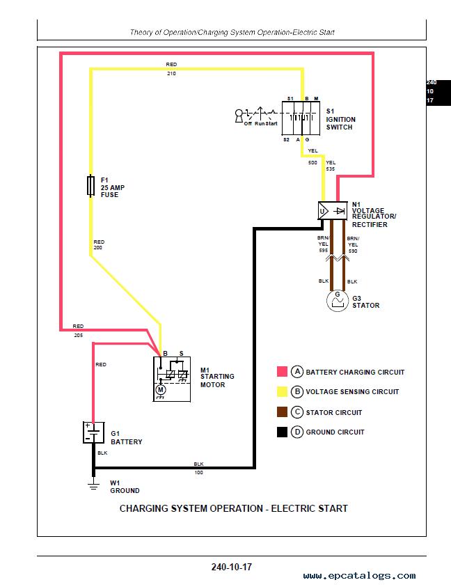 john deere 54 walk behind wiring diagram  wire center •