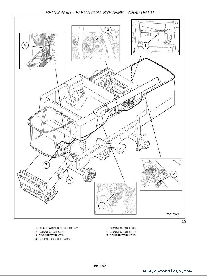 New Holland 3230 Tractor Wiring Diagram